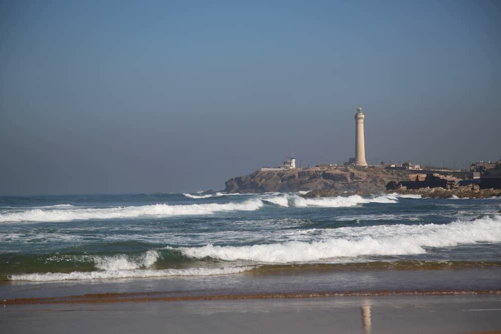 Corniche Kazablanka Fas