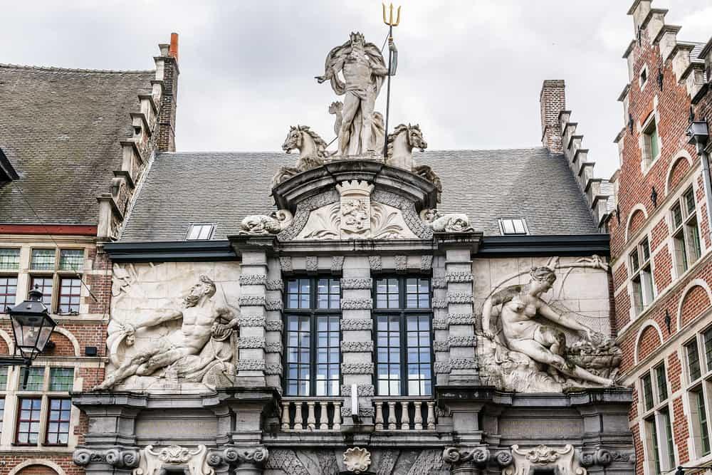 De Oude Vismijn(Balık Pazarı)Gent