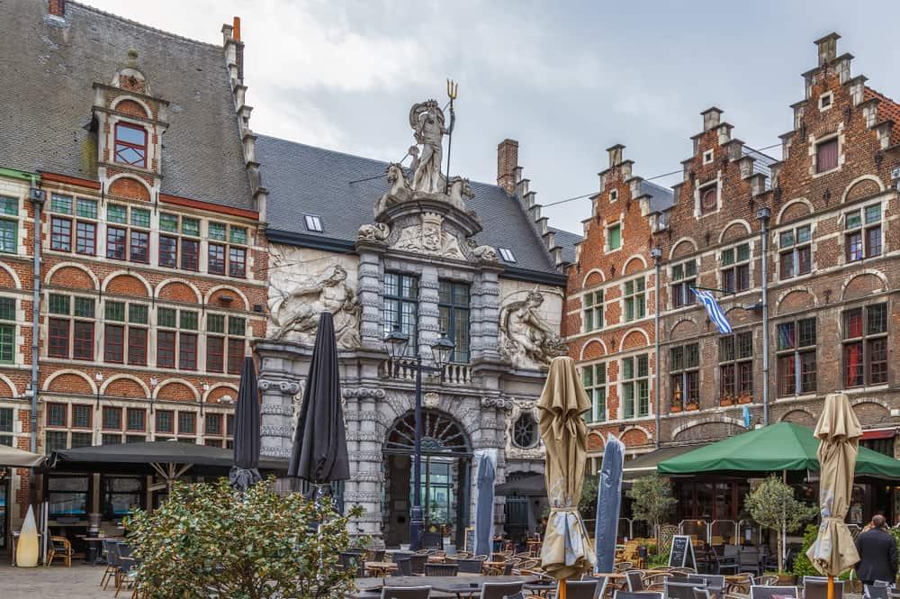 De Oude Vismijn(Balık Pazarı)Ghent