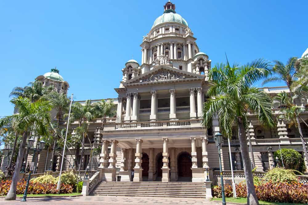 Durban Belediye Binası Güney Afrika