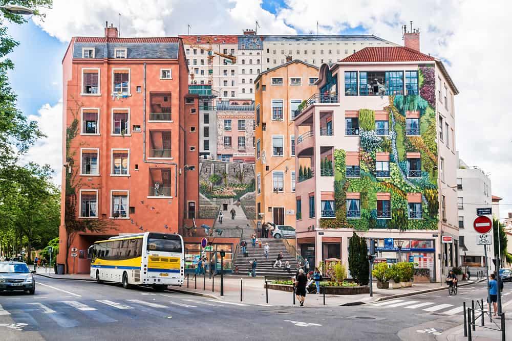 Duvar Sanatları (Le Mur des Canuts) Lyon