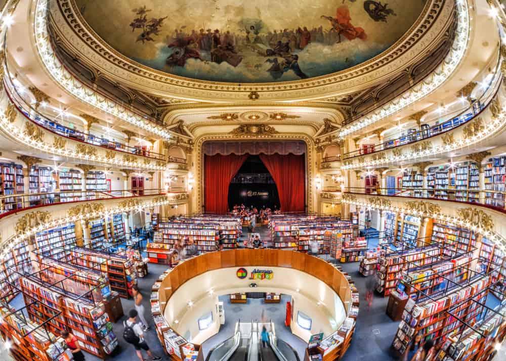 El Ateneo Grand Splendid, Buenos Aires - Arjantin