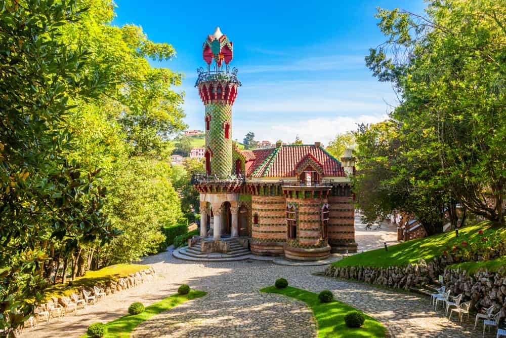 El Capricho Comillas Adası İspanya