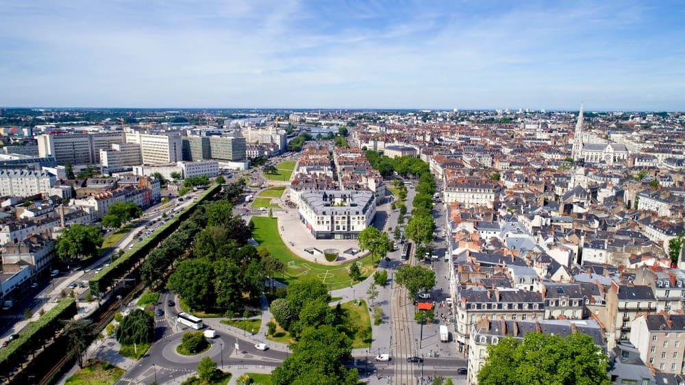 Feydeau Adası (Ancienne île Feydeau) Nantes Fransa