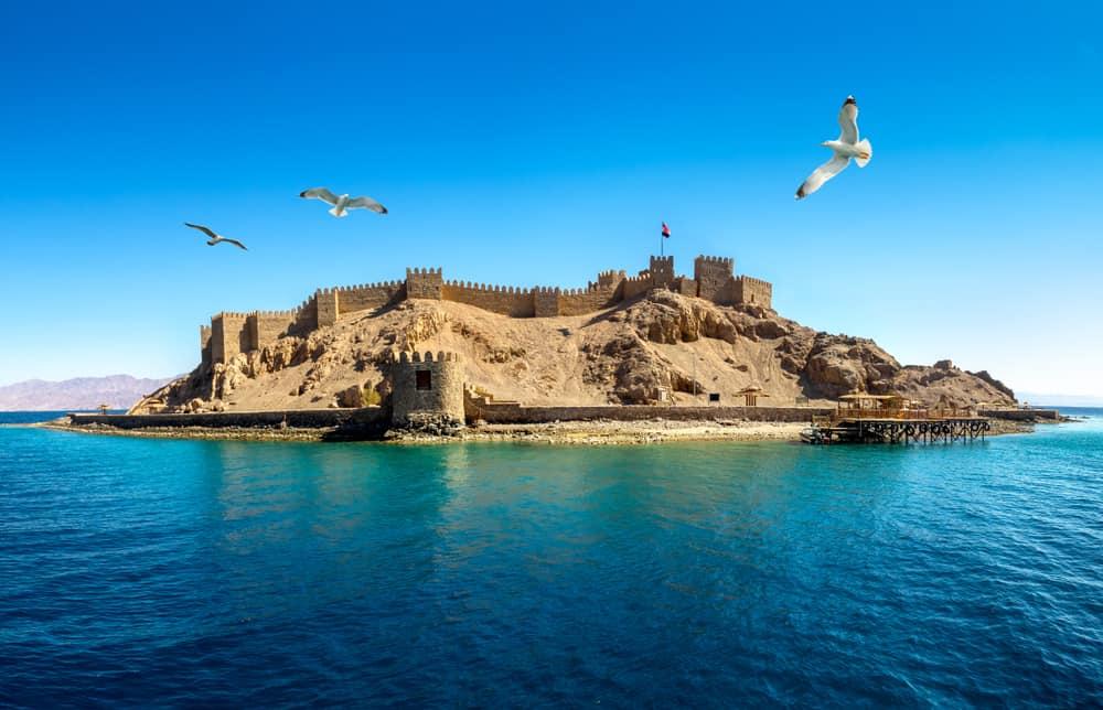 Firavun Adası Taba Mısır