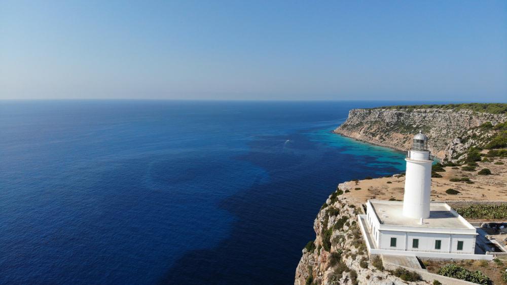 Formentera Adası Deniz Feneri İspanya