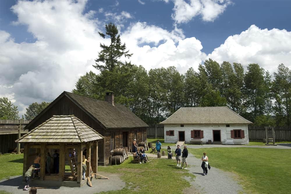 Fort Langley Ulusal Tarih Bölgesi Vancouver