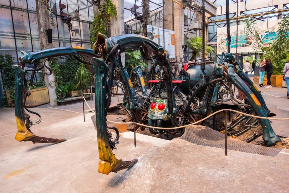 Nantes Adası'nın Makineleri (Les Machines de l'Île) Nantes Fransa