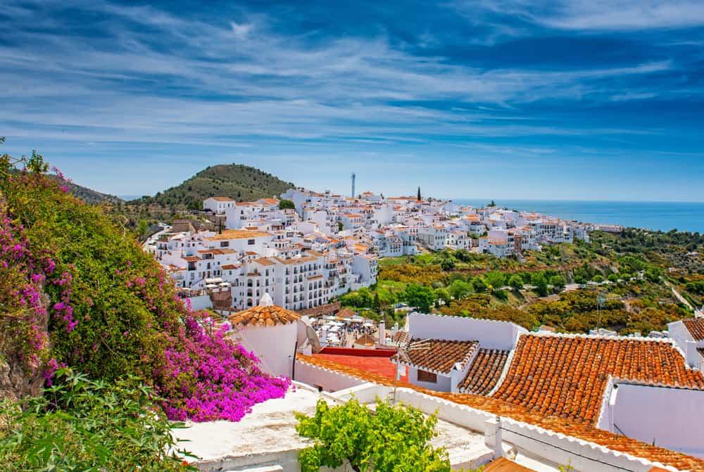 Frigiliana Adası İspanya