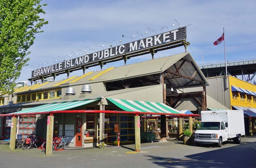 Granville Adası Market Vancouver