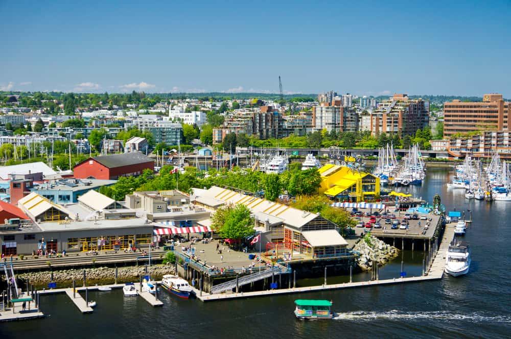 Granville Adası Vancouver Kanada