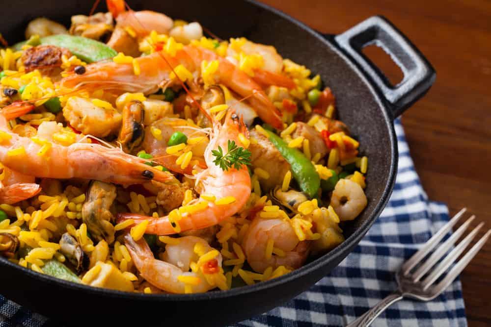 Ibiza yemek paella