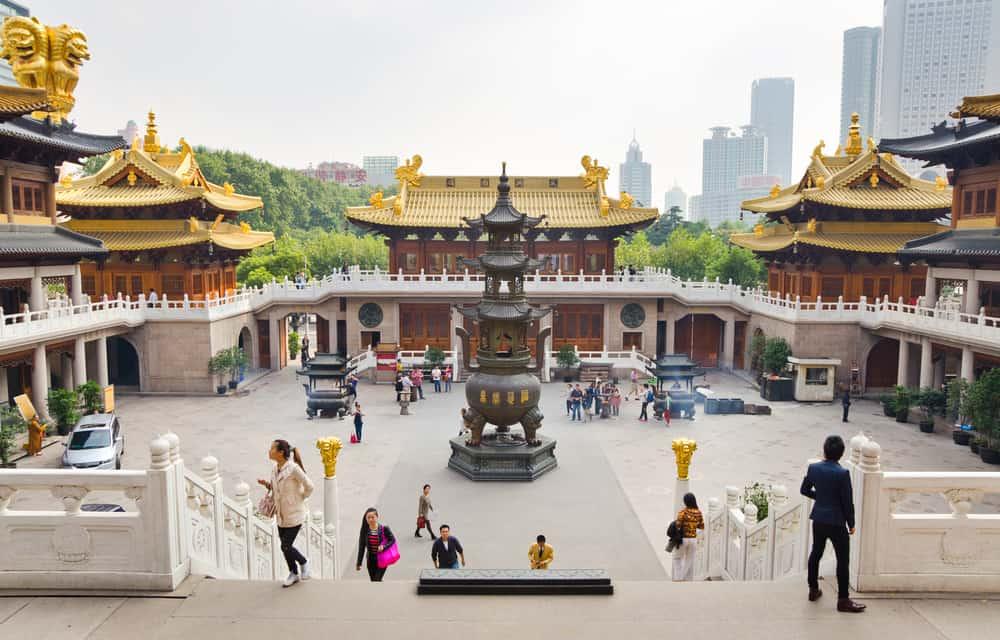Jing'an Tapınağı Şangay Çin