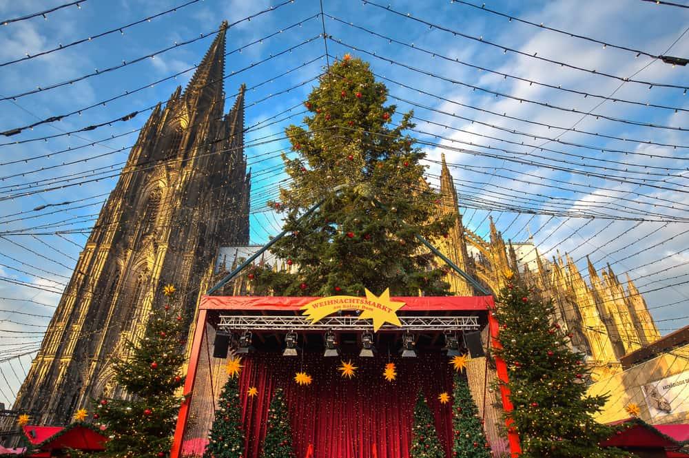 Köln Almanya Noel Pazarı
