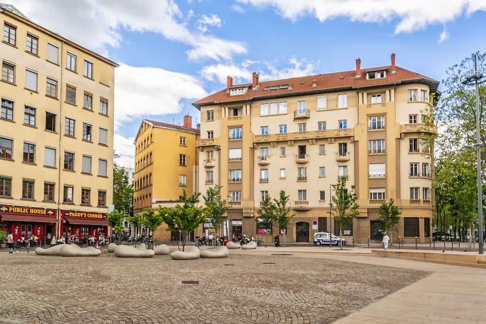 La Croix - Rousse Bölgesi Lyon
