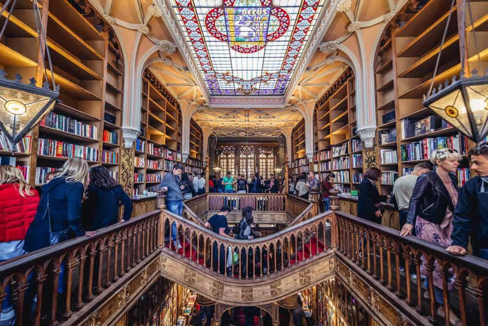 Livraria Lello Porto Portekiz