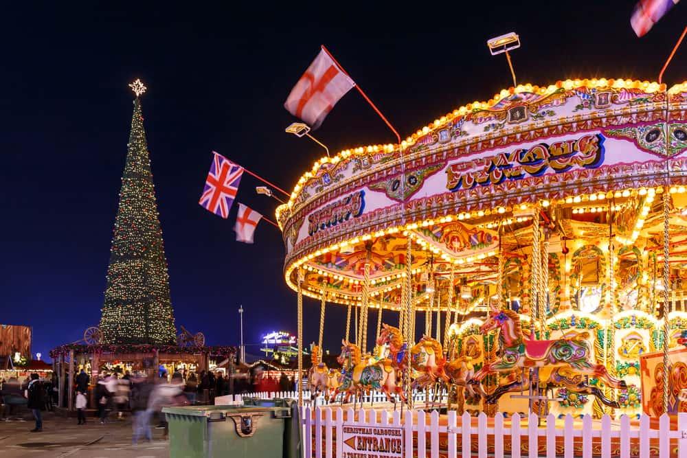 Londra Noel Pazarı