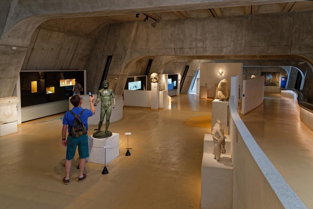 Lyon Fourviére Galya - Roma Müzesi (Musée Gallo-Romain de Fourviere)