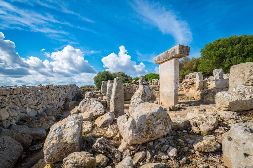 Menorca, Balear Adaları, İspanya Ören Yeri