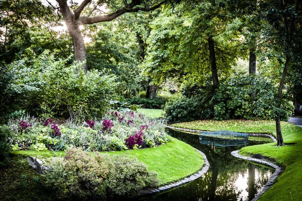 Nantes Botanik Bahçesi (Jardin des Plantes) Nantes Fransa