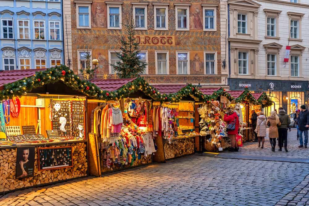 Noel Pazarı Prag, Çek Cumhuriyeti