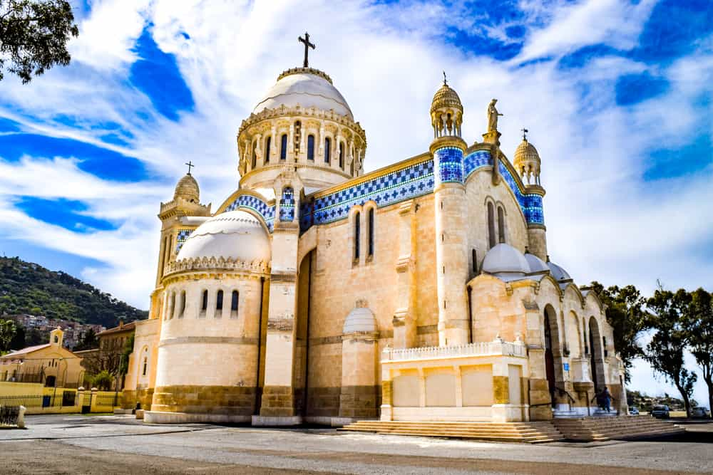 Notre Dame d'Afrique (Afrika'nın Notre Dame Katedrali) Cezayir
