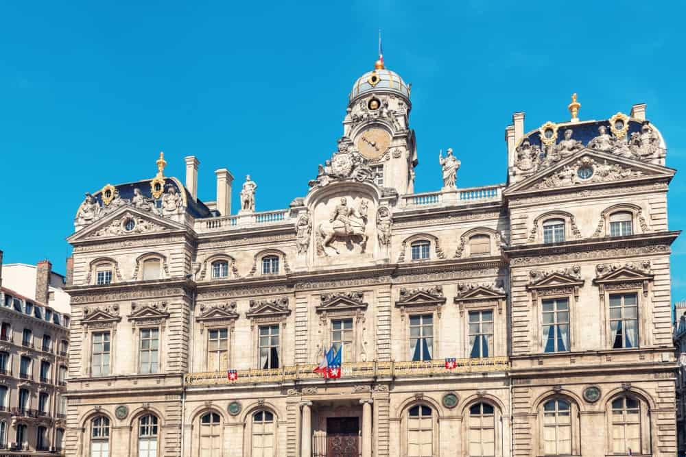 Lyon Place des Terraux (Terraux Meydanı)