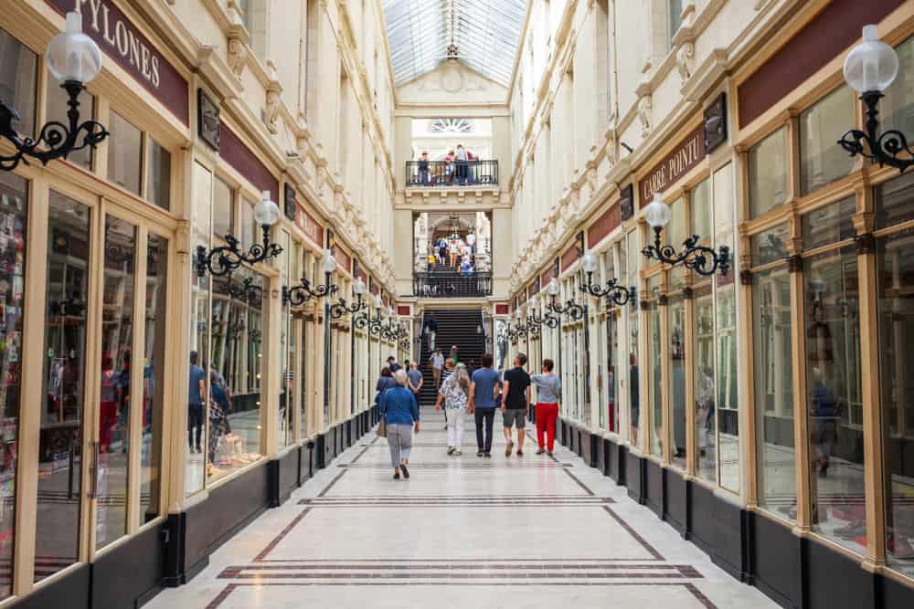 Pommeraye Pasajı (Le Passage Pommeraye) Nantes