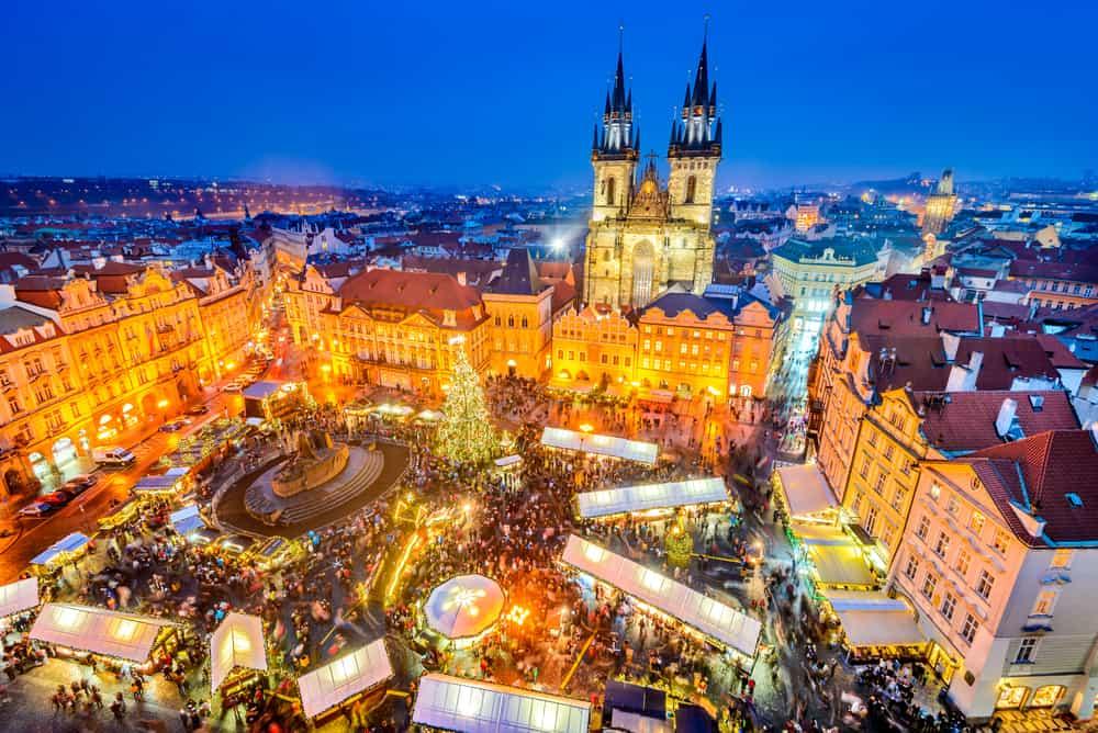 Prag, Çek Cumhuriyeti Noel Pazarı