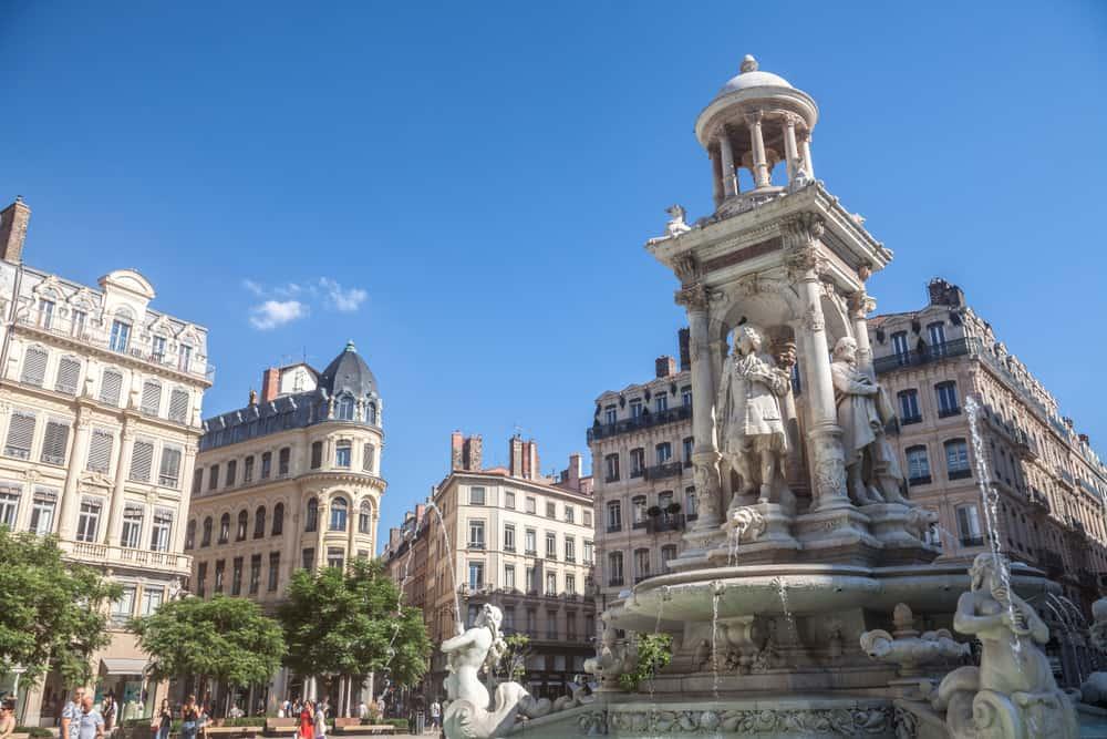 Presqu'ile Bölgesi Terraux Meydanı Lyon
