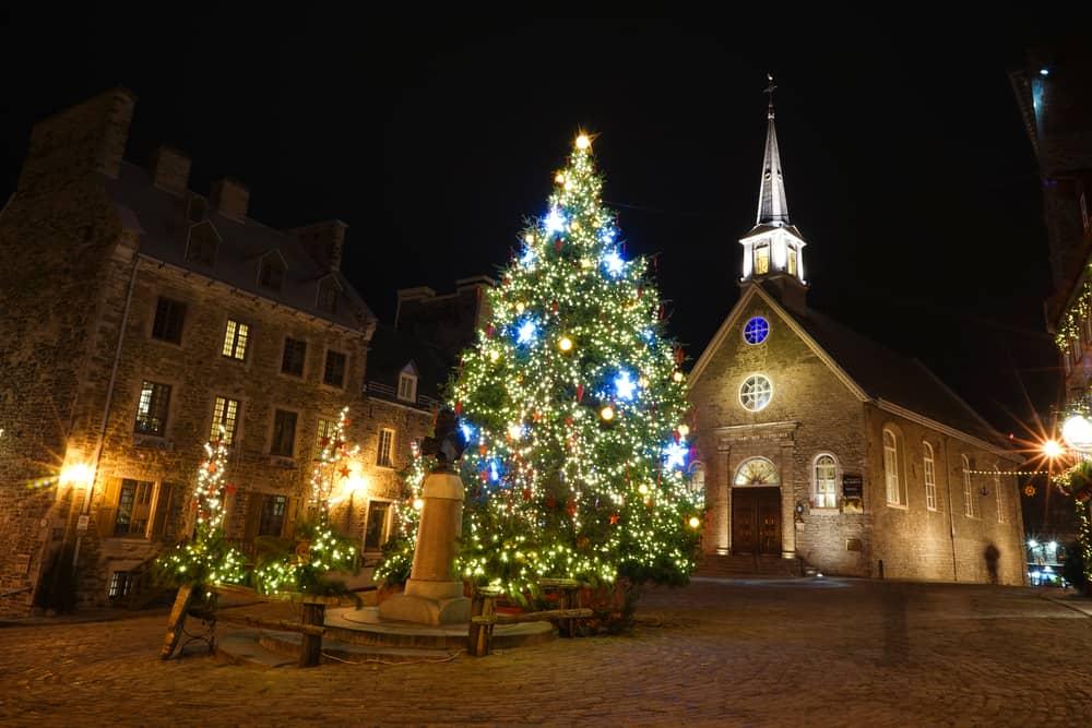 Québec, Kanada Noel Pazarı