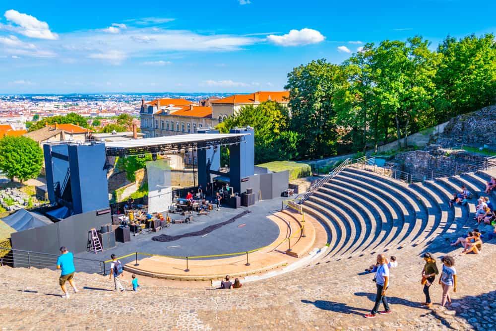 Roma Arkeoloji Parkı (Theatre Gallo Romain) Lyon