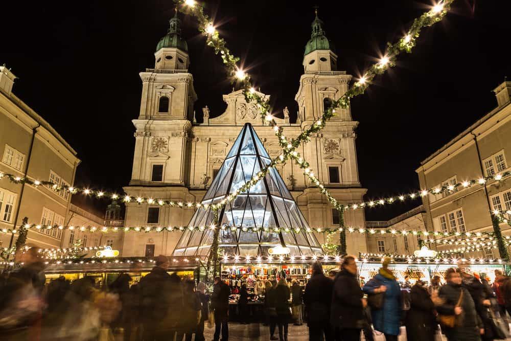 Salzburg Avusturya Noel Pazarı
