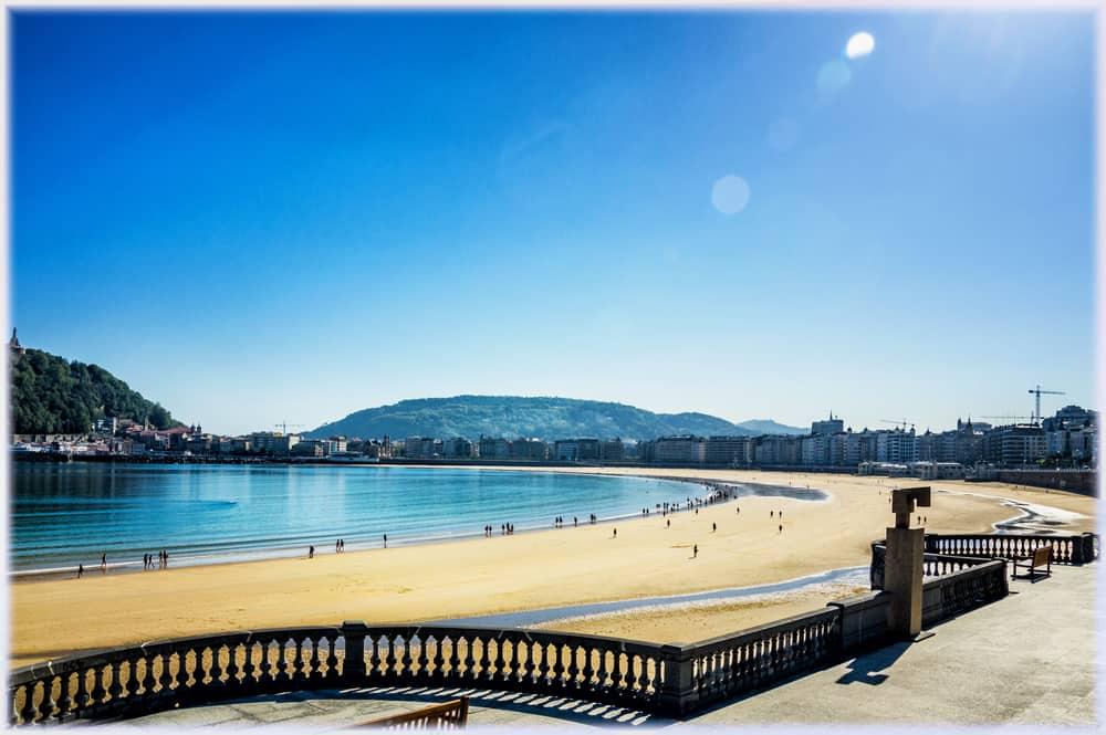San Sebastian Plajı İspanya