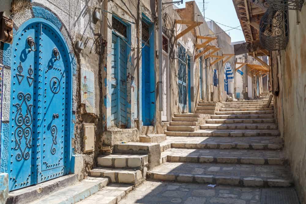 Sousse Sokakları