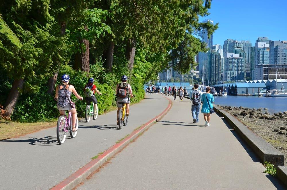 Stanley Park Vancouver Koşu&Yürüyüş