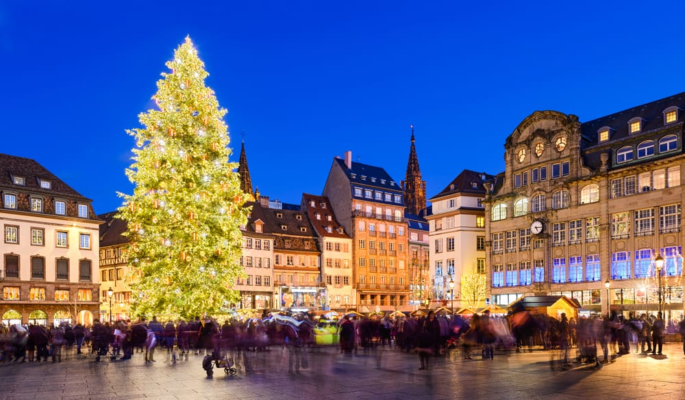 Strasbourg, Fransa Noel Pazarı