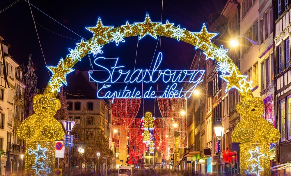 Strasbourg, Fransa Noel