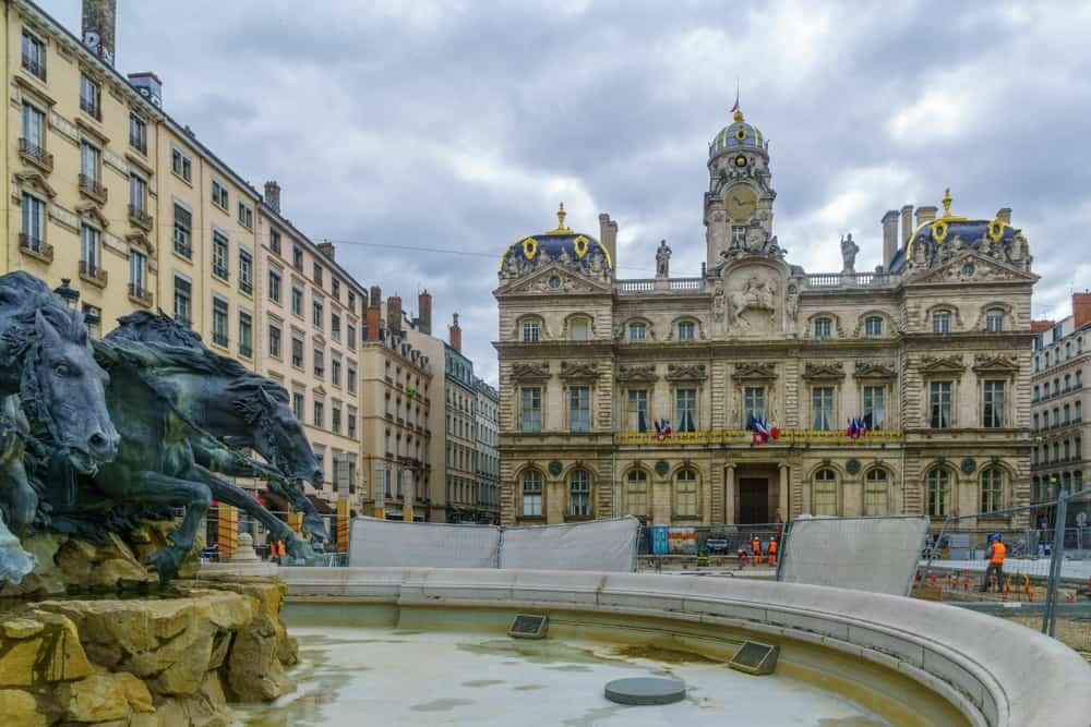 Terreaux Meydanı Lyon