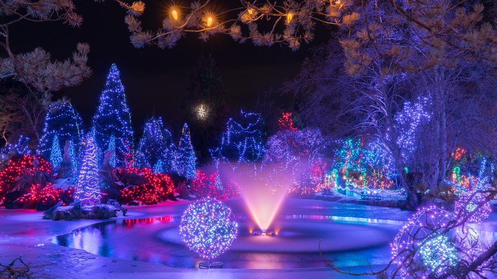 VanDusen Botanik Bahçesi Vancouver Kanada