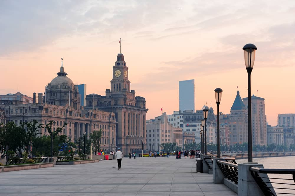 Wàitan Rıhtım Şangay Çin