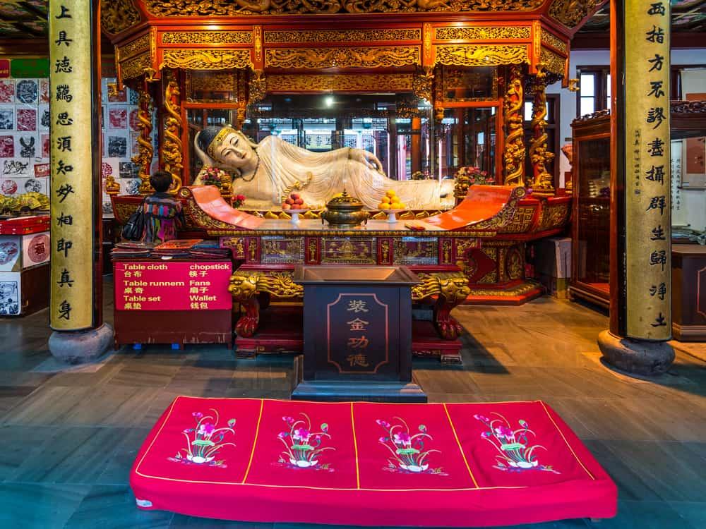 Yeşim Buda Tapınağı Şangay Çin