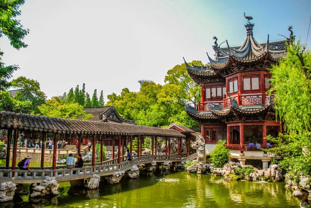 Yu Bahçesi Şangay