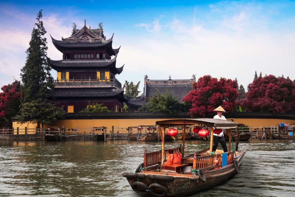 Zhujiajiao Şangay Çin