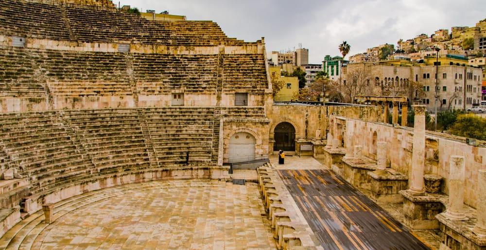 Ürdün Amman Roma Amfitiyatrosu