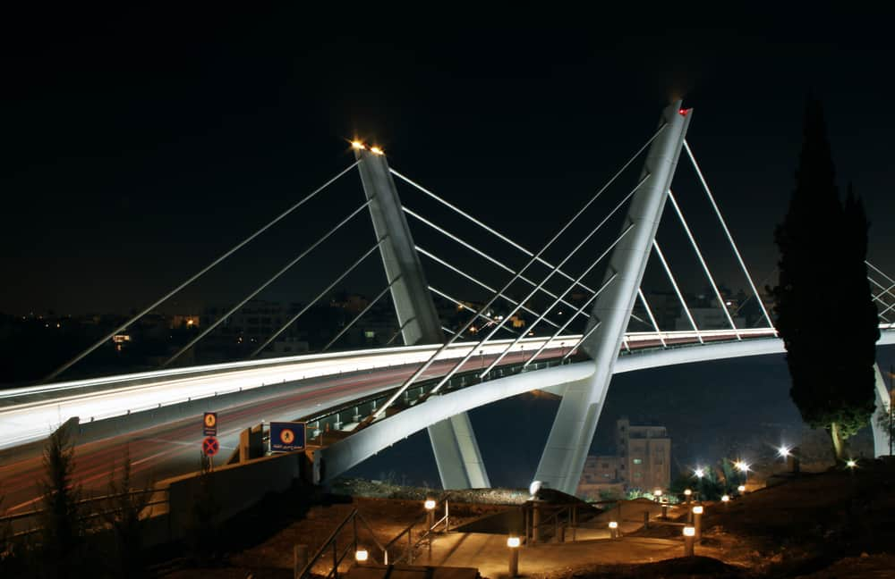 Amman'a Ne Zaman Gidilir?Abdoun Köprüsü Amman Ürdün