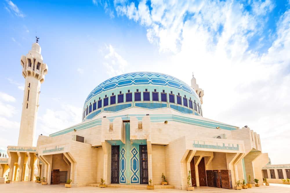 Amman, Ürdün Kral Abdullah Camisi