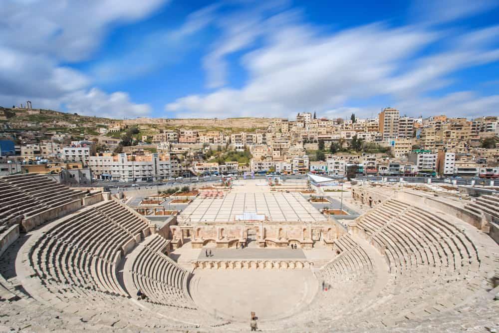 Amman Ürdün Roma Amfitiyatrosu