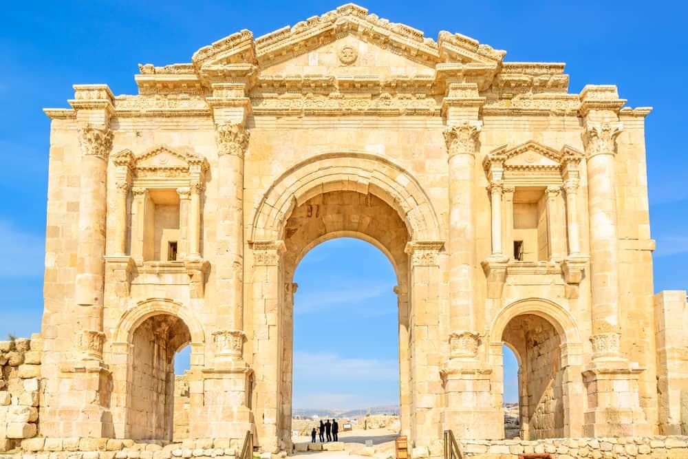 Amman Ceraş, Hadrian Kapısı, Ürdün