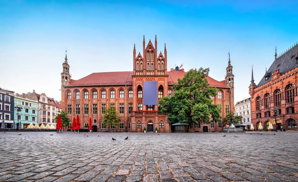 Belediye Binası Torun Polonya